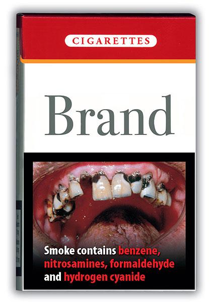 Теперь в Европе о возможном вреде курения будут сообщать таким образом.