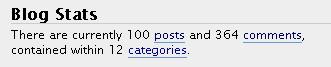 100 постов в 12 разделах + 364 комментария к ним