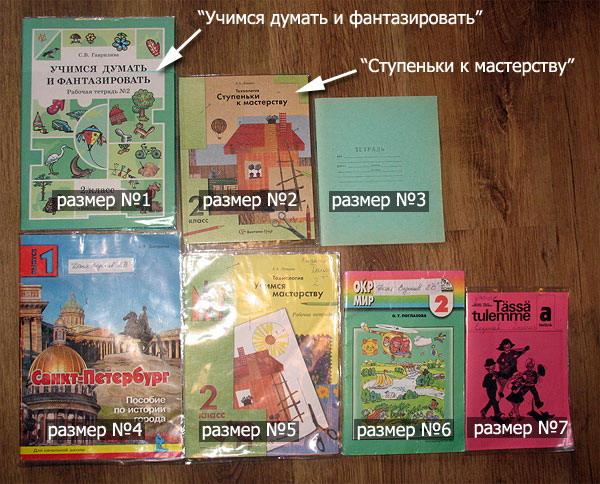 Как сделать тетради и учебники