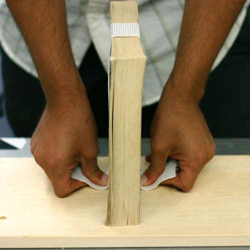 Измеряем высоту книжек