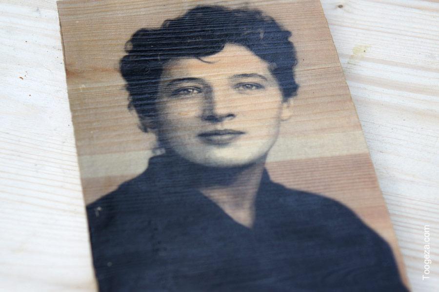Фотография нашей бабушки в молодости
