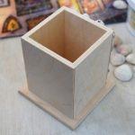Как сделать эксклюзивную подставку для карандашей