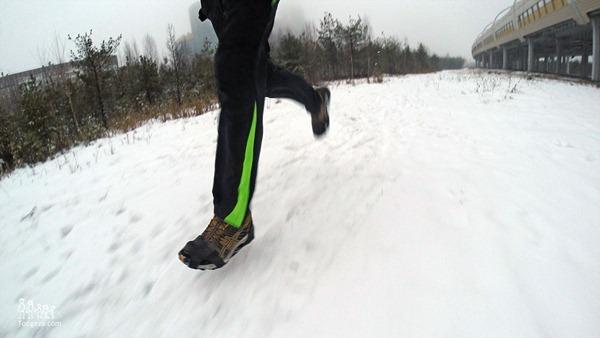 съёмные шипы для обуви вполне годятся для бега