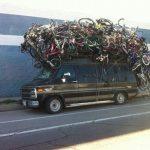 Как перевозить 5 (пять) велосипедов на автомобиле