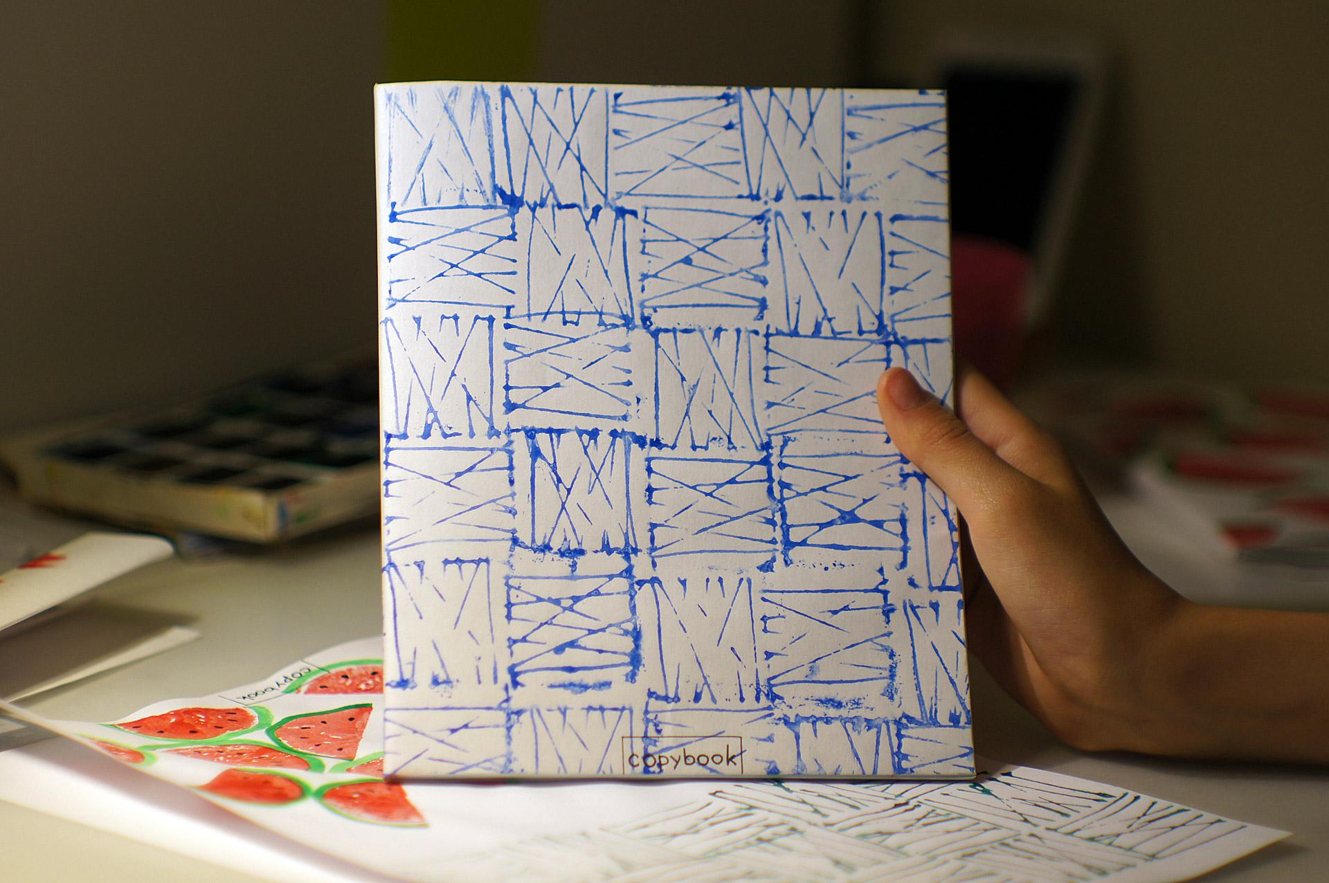 Как сделать обложку на тетрадь своими руками
