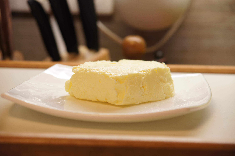 Масло сливочное самодельное