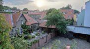Вид на задний дворик в Тарту