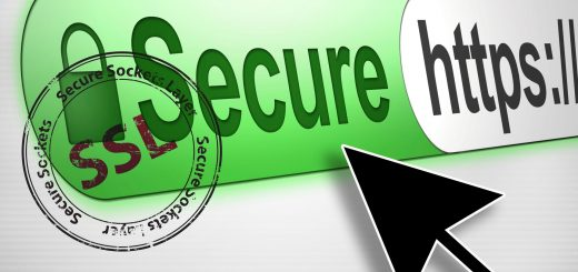 SSL-secured website